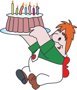 Карлсон с тортом